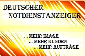 Deutscher Notdienstanzeiger Werbung